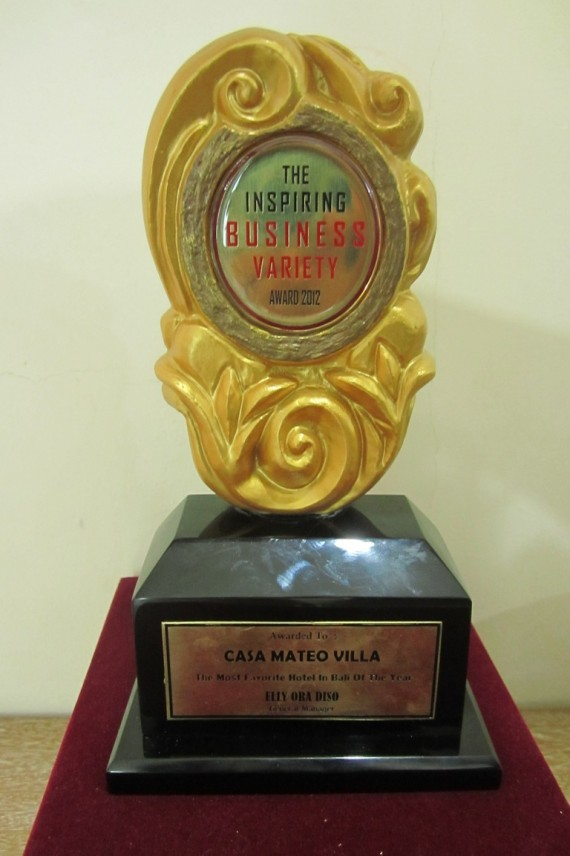The Most Favorite Hotel in Bali of The Year 2012