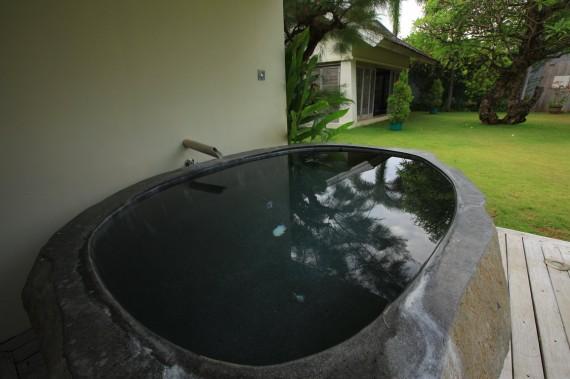 Sauna Bathtub Stone